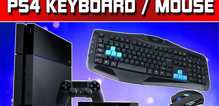 Мышь и клавиатура для PS 4