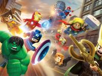 Логотип LEGO Marvel Super Heroes